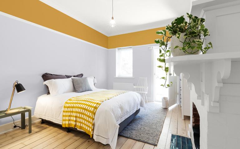 5 couleurs éclatantes pour la chambre à coucher qui ne ...