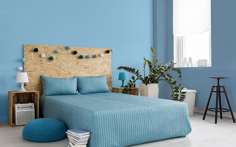 5 couleurs éclatantes pour la chambre à coucher qui ne nuisent pas ...
